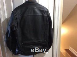 Harley Davidson Men FXRG Waterproof Body Armor Black Leather Jacket 98518-05VM L