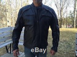 Harley Davidson Men Reflective Willie G Skull Black Leather Jacket 98099-07VL XL