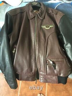 Harley Davidson Men's 95th Anniversary USED Leather jacket Size Medium