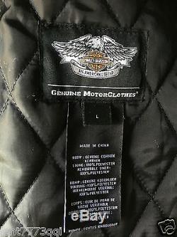 Harley-Davidson Men`s Classic Cruiser Leather Jacket