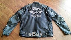 Harley-Davidson Men's Leather Jacket, Black rn103819/ca03402