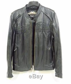 Harley-Davidson Men's Leather Riding Streetware Jacket Size XL