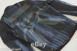 Harley Davidson Men's SKULL Alien Spider Leather Jacket 97062-11VM XL Rare