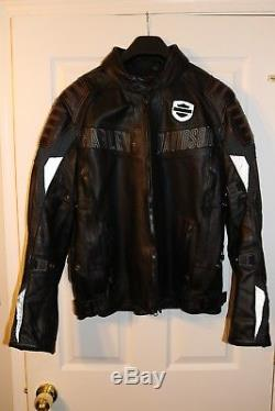 Harley-Davidson Men's waterproof Leather Jacket size Large