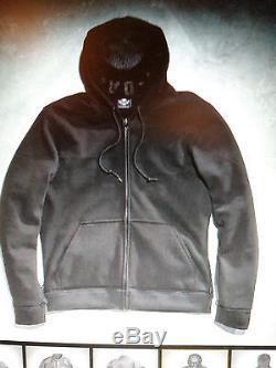 Harley Davidson Mens 3n1 Leather Jacket w Hoodie 2xl xxl Reflect Willie G Skull