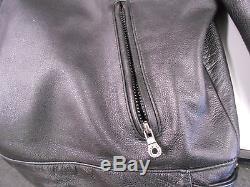 Harley Davidson Mens Reflective Willie G Skull Black Leather Jacket XXL