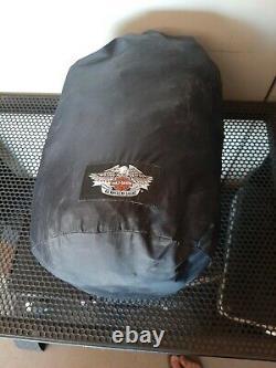 Harley Davidson Reflective XL Motorcycle Riding Gear Rain Suit Jacket and pants