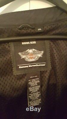 Harley Davidson Road Warrior 3-in-1 Leather Jacket 2XL