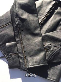 Harley Davidson Women's ISIS Eagle Black Leather Jacket Medium Tribal