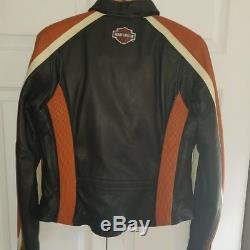 Harley Davidson Women's Leather Jacket (Large)