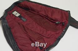 Harley Davidson Womens WILDSIDE Wings Black Leather Jacket Crystals 97089-12VW M