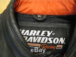 Harley Davison Screaming Eagle leather jacket XL
