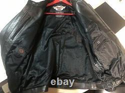 Harley davidson leather jacket xxl Wore Once