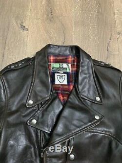 Himel Brothers X HTC Steerhide Brown D-pocket Leather Jacket 42 Ultra Rare