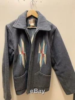 Inaian Motorcycle Chimayo Jacket Gray Used From Japan