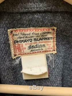 Indian Motorcycle Chimayo Jacket Gray Used