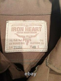 Iron Heart Duck Canvas Type 3 Jacket IH-2526J Size L