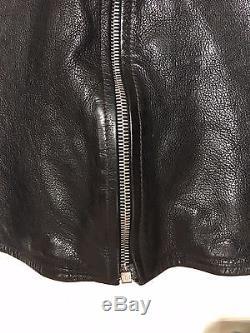 Jean Shop Men's Leather Moto Jacket 100% Authentic Sold Out On Mr Porter