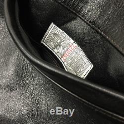 JOE McCOY 30'S SPORT JACKET sz 36 horsehide leather vtg real mccoys freewheelers