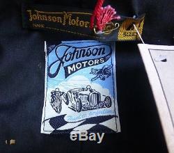Johnson Motors Vanson Bud Ekins Nos Leather Motorcycle Jacket Triumph Bsa Buco