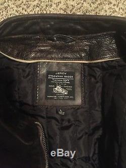 J. Crew Stockton Leather Jacket