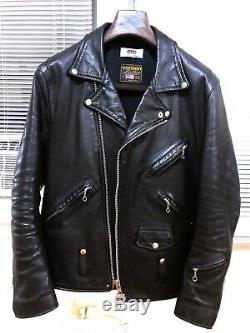 Junya Watanabe × Comme Des Garcons × Vanson eYe double-rider leather jacket