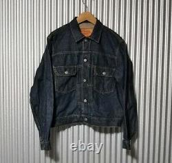 LVC 90s Levis 507XX type 2nd denim jacket Tracker jacket Selvedge Big E / vtg