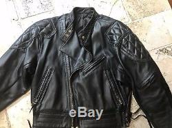 Langlitz Goatskin leather Columbia w Mandrin collar Jacket sz XL
