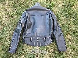 Langlitz Leathers Columbia Jacket Size 42 44 custom made heavyweight 2008 Mint