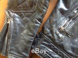 Langlitz horsehide leather motorcycle jacket vintage size 40 ULTIMATE JACKET