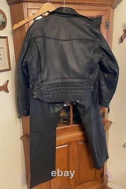 Langlitz leathers Jacket & Pants Set Heavy Leather. Nice Quality Set