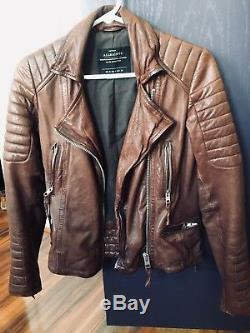 Leather Jacket Women Small All Saints