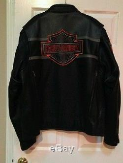 Leather harley davidson jacket