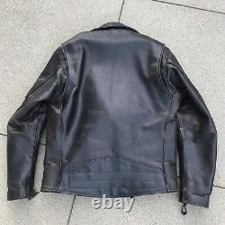 Left Field NYC Vanson Commando Horween Leather Anniversary Motorcycle Jacket