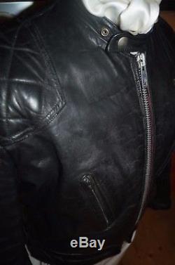 Lewis Leathers Phantom motorcycle bike Jacket Aviakit size 38 Cafe racer small