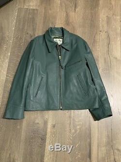Lost Worlds Custom Goatskin Suburban Leather Jacket 44