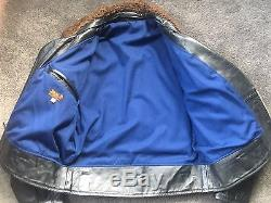 Lost Worlds Custom Trojan Horsehide Motorcycle Jacket Size 44 $1350 on website