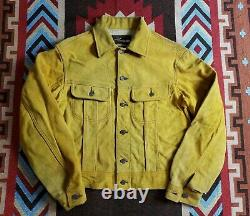 Lost Worlds Roughout Suede Leather Jacket RRL