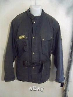 Ltd Edt Belstaff Trialmaster 1955 Sammy Miller Waxed Motorcycle Jacket Size XL