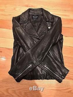 Madewell Black Leather Jacket