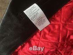 Maison Margiela Calfskin Leather Moto Jacket