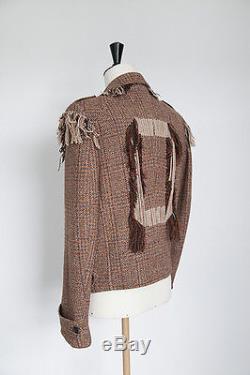Maison Martin Margiela Couture AW2007-2008 Artisanal tweed biker jacket