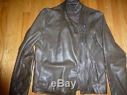 Maison martin margiela14 mens rare motorcycle leather jacket size M or 38