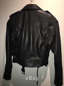 Maje Leather Biker Jacket RRP £499