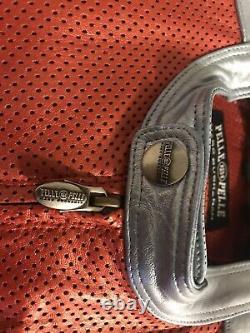 Marc buchanan pelle pelle leather jacket size 54