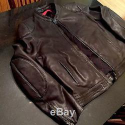 Men's Hugo Boss Motorcycle Jacket Size M