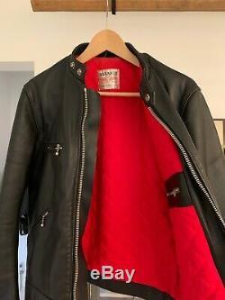 Men's Lewis Leathers Super Sportsman leather motorcycle jacket size 40