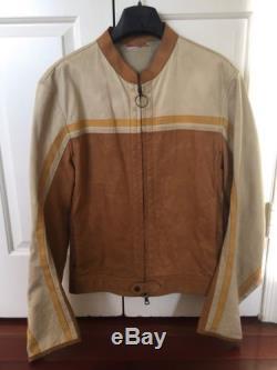 Men's PRADA Leather Jacket (used) Size 52