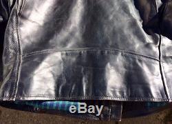 Men's Vanson Horsehide Comet Jacket Size 42