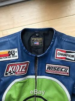 Men's Vanson Moto Jacket Leather